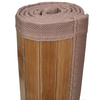 vidaXL Prostirka za Kupaonicu Bambus 60 x 90 cm Smeđa