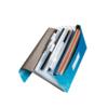 Fascikla PVC s gumom crvena kap.250 lista Bebop Leitz