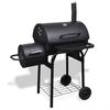 VIDAXL jača peć za dimljenje roštilja na drveni ugljen