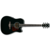 ozvučena akustična gitara IBANEZ AW70ECE-BK