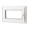 VIDAXL nagibni PVC prozor s ručkom na desnoj strani 800x500mm