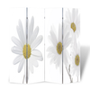 vidaXL Sobna pregrada ispisom cvijeća 160 x 180