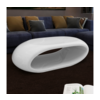 Bijeli stolić za kavu šupljom