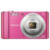 SONY digitalni fotoaparat DSC-W810P roza