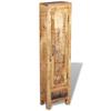 vidaXL Ormar za Kupaonicu sa Ogledalom i 2 Ormarića Masivno Mango Drvo