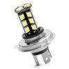 BRIDGELUX LED žarnica z uporom H4-P43t38 / 27 LED / 5050 / 6,5W = 35,9W / DC 12V / Canbus, hladno bela