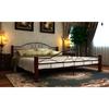 vidaXL Dupli okvir kreveta 160x200 cm Metalni Crni