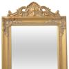 vidaXL Samostojeće Ogledalo Barokni Stil 160x40 cm boja zlata