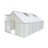 VIDAXL staklenik 10.75 m2. polikarbonat i aluminij