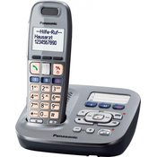 PANASONIC brezžični telefon KX-TG 6591GM, graphit