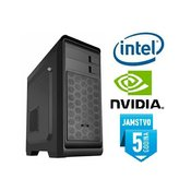 Računalo INSTAR Play 7700, Intel Core i7-7700 up to 4.20GHz, 8GB DDR4, 1TB HDD, NVIDIA GeForce GT1030 2GB, DVD-RW, 5 god jamstvo