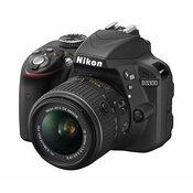 NIKON D-SLR fotoaparat D3300 + 18-55VR II
