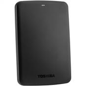 TOSHIBA vanjski tvrdi disk CANVIO BASICS 1TB (HDTB310EK3AA)
