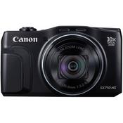 CANON digitalni fotoaparat SX710 HS, črn
