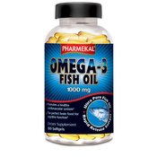 PHARMEKAL Omega-3 Fish Oil, 100 kapsul