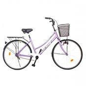 Glory Bike Bicikl gradski 26 sa nožnom koenicom ljubieasti