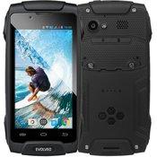 EVOLVEO pametni telefon StrongPhone Q8 DS, crni