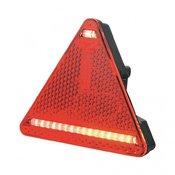 SecoRüt Trokut LED svjetlo za prikolice SecoRüt za lijevu stranu, treperavo stražnje svjetlo