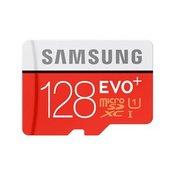 Samsung micro SDXC 128 gigabytes EVO Plus + SD Adapter
