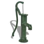 VIDAXL litoželezna vrtna črpalka za vodo, ročna
