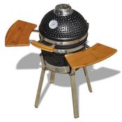 vidaXL Kamado keramicki uredaj za grill i dimljenje 76 cm