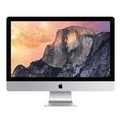Ra?unalo APPLE iMac 21.5'''' Retina 4K, Intel Dual Core i5 1.6GHz, 8GB, 1000 GB, Intel HD Graphic 6000, G-LAN, WiFi, USB 3.0, SDXC, BT, tipk., mi?, zvuk, OS X, mk142cr/a