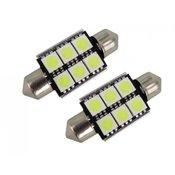 M-LINE žarulja LED 24V C5W 36mm 6xSMD 5050, bijela, par