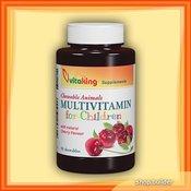 VITAKING vitamini za otroke Multivitamin for children, 90 žvečilk