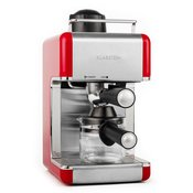 Klarstein Sagrada Rossa Aparat za espresso, plemeniti čelik 800W 3,5 Bara 4 šalice