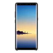 Samsung Galaxy Note8 Alcantara Cover, crni