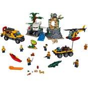 LEGO City Jungle Explorers Raziskovanje v džungli (60161)