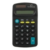 Kalkulator TITANUM TALES, 8 digit display, solar/battery power, TCL101