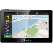 """Prestigio GPS GeoVision 5057 5"""""""",480x272,4GB,128MB RAM, Navitel softwafe,Speaker PGPS5057EU20GBNV"""