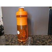 BlenderBottle Sportmixer transparenten, oranžen 590 ml