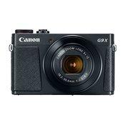 CANON kompaktni fotoaparat PowerShot G9X Mark II, črn