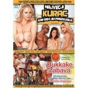 DVD: Največji kurac kar sem jih preizkusila + Bukkake zabava