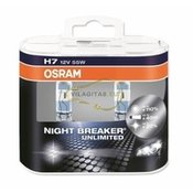 OSRAM set žarnic H7 55W 12V Night Breaker Unlimited