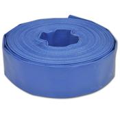 vidaXL PVC plosnato crijevo za vodu, 25 m, 2''''