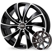 Rial platišča x112 ET36 7.5x17 RIAL LUGANO črna 70.1 ( Audi. VW. Mercedes. Škoda. Seat )