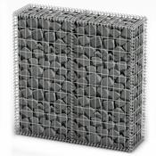 Gabion gabionski zidovi s pocinčanim žicama 100 x 100 x 30 cm