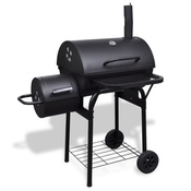VIDAXL jaca pec za dimljenje roštilja na drveni ugljen