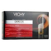 Vichy Dercos Aminexil Pro ampulice proti izpadanju las (Aminexil Pro Homme) 18x6 ml
