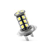 BRIDGELUX LED žarnica z uporom H7-PX26d / 27 LED / 5050 / 6,5W = 35,9W / DC 12V / Canbus, hladno bela
