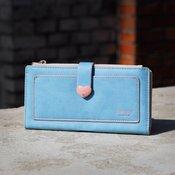 Prettyzys ženski novčanik Soft plava