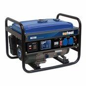 NUPOWER bencinski agregat NG2200 2.2 KW 1F, ročni zagon 2X230V 1X12V