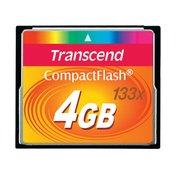 TRANSCEND memorijska kartica COMPACT FLASH 4GB 133X TS4GCF133