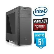 Računalo INSTAR Gamer Ultra, Intel Core i3-4170 3.70GHz, 4GB, 1TB HDD, AMD Radeon RX550 2GB GDDR5, DVD-RW, 5 god jamstvo