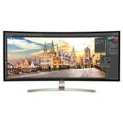LG ukrivljen LED monitor 38UC99-W 37,5