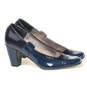ALEX Kroko lakovane cipele 551 teget-crne