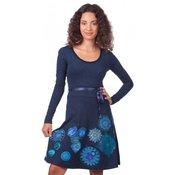 DESIGUAL ženska obleka (L), modra